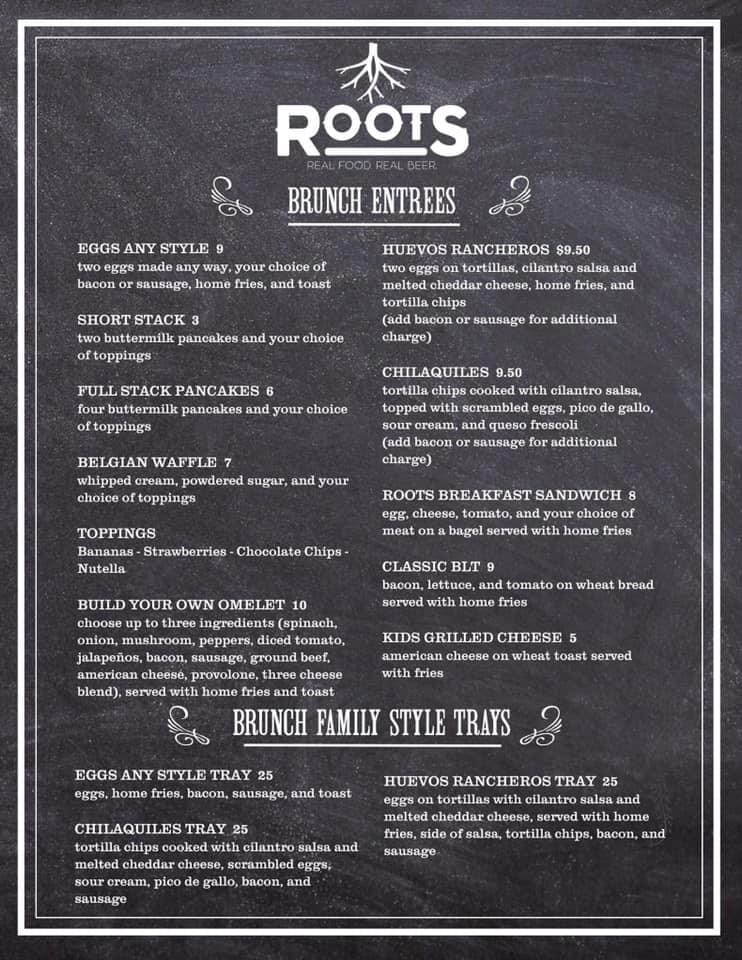Steve Roots Restaurant